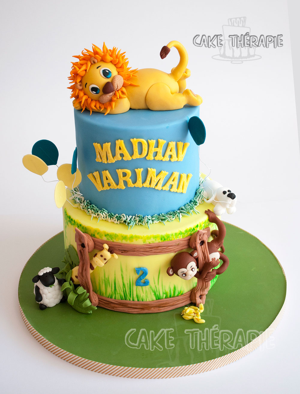 Jungle Theme Cake.