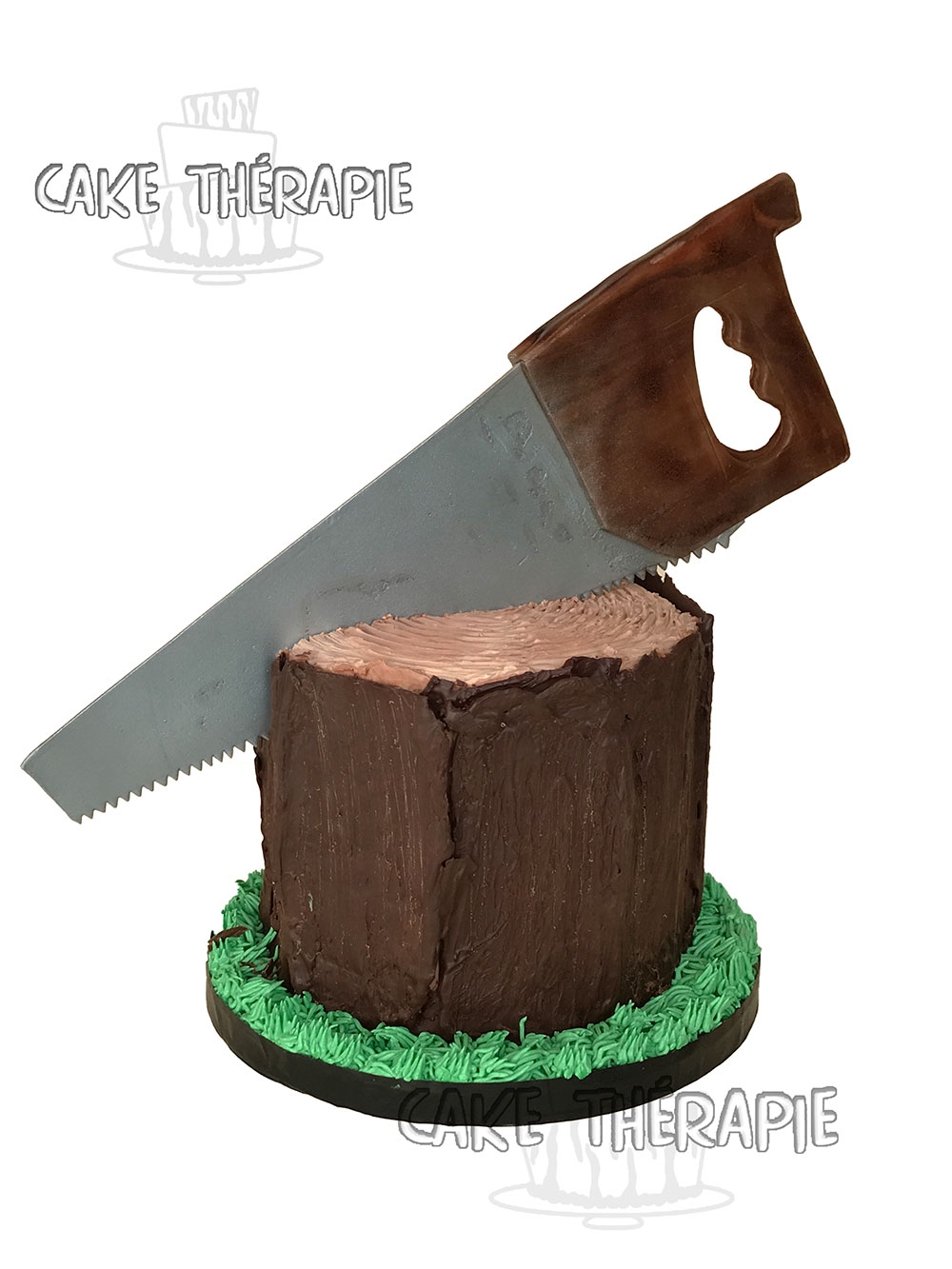 Wood Shop Cake