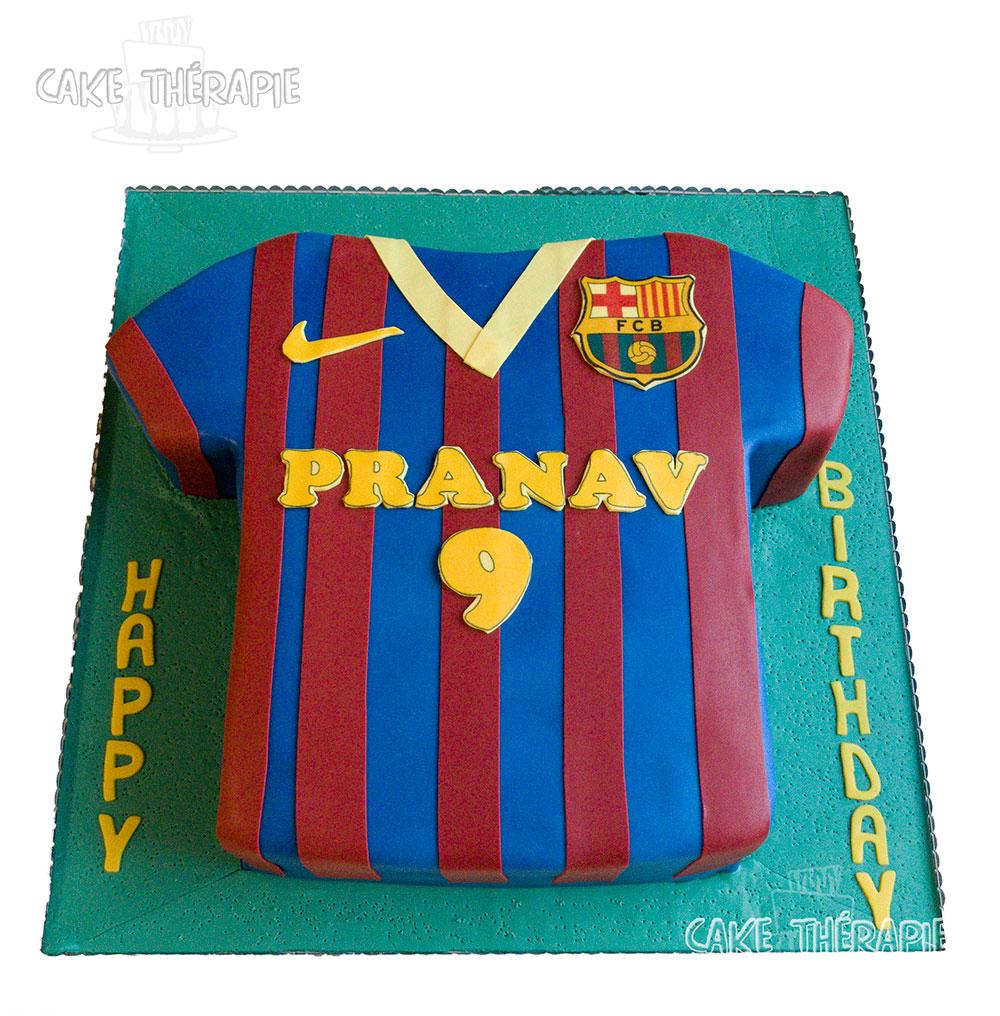 Football Trikot Cake