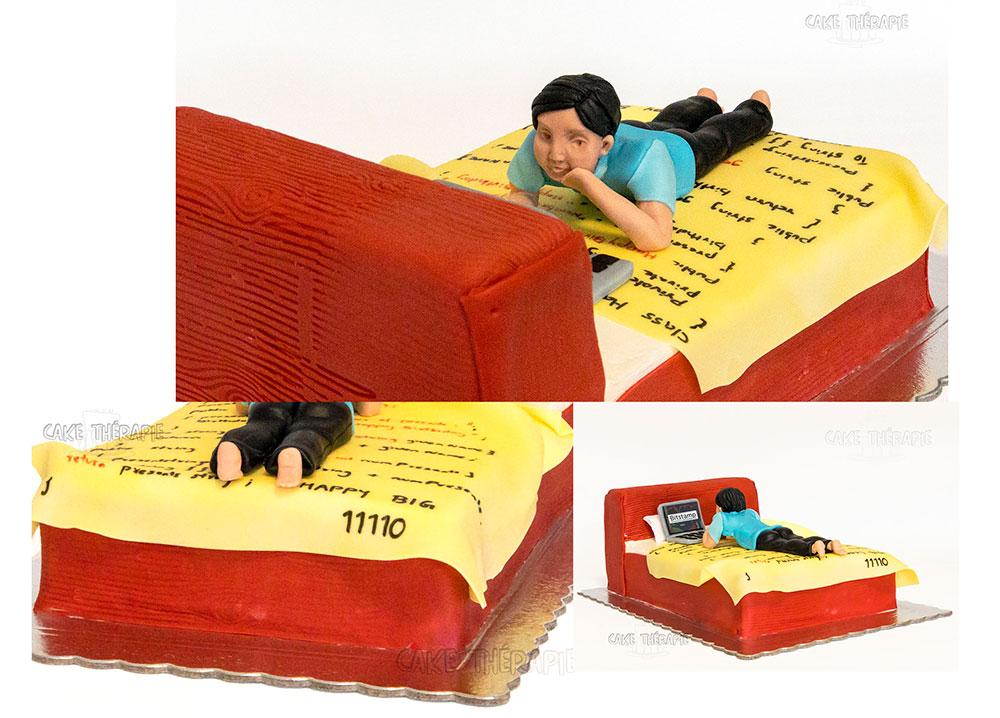 Geeky Cake.