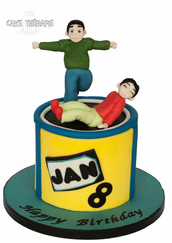 Trampolino Cake