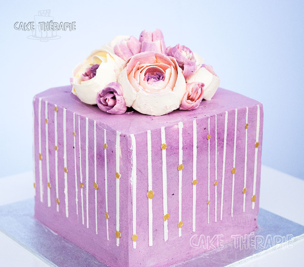 Buttercream Flowers Cake