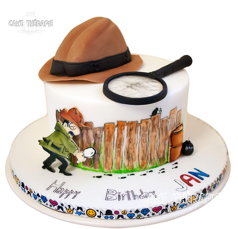 Detective Cake