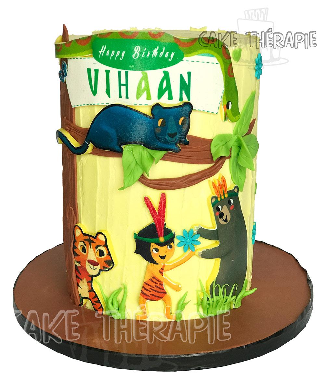 Jungle Book Cake.